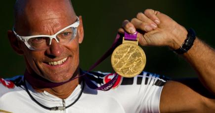 Heinz Frei ist mehrfacher Olympiasieger in Para-Sportarten.